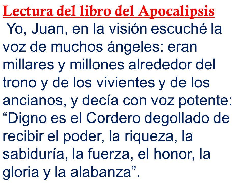 Lectura del libro del Apocalipsis