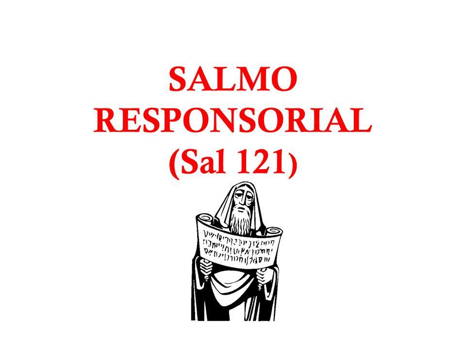SALMO RESPONSORIAL (Sal 121)