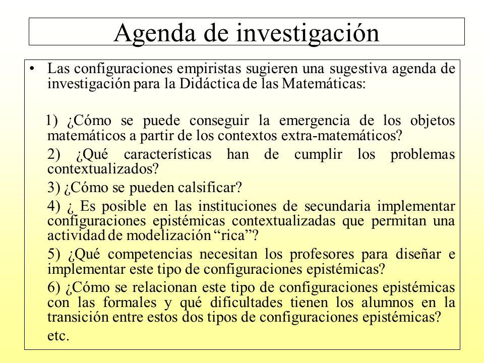 Agenda de investigación