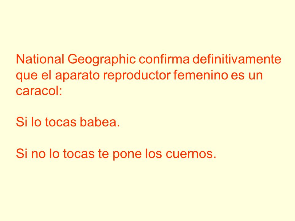 National Geographic confirma definitivamente