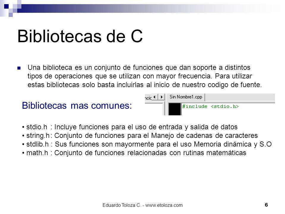 Eduardo Toloza C. - www.etoloza.com