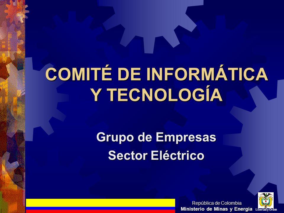 COMITÉ DE INFORMÁTICA Y TECNOLOGÍA