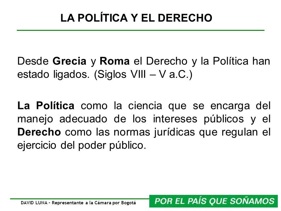 DAVID LUNA - Representante a la Cámara por Bogotá