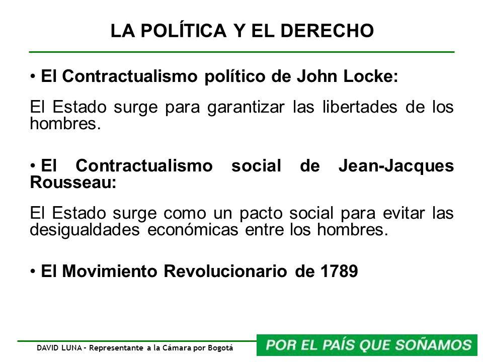 LA POLÍTICA Y EL DERECHO