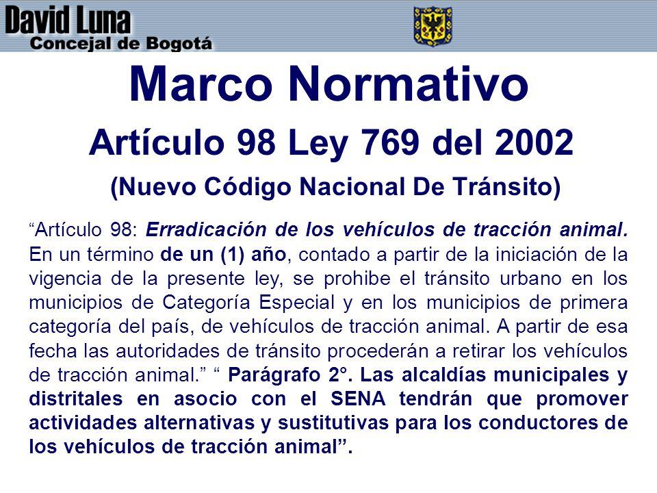 (Nuevo Código Nacional De Tránsito)
