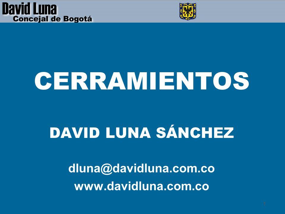 CERRAMIENTOS DAVID LUNA SÁNCHEZ dluna@davidluna.com.co