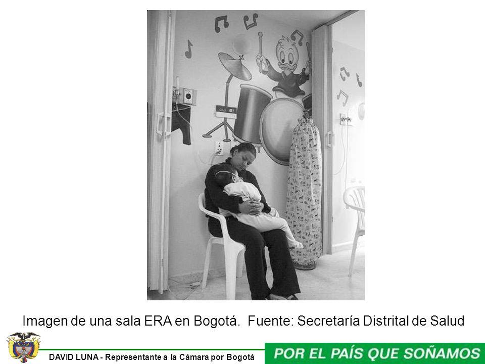 Imagen de una sala ERA en Bogotá. Fuente: Secretaría Distrital de Salud