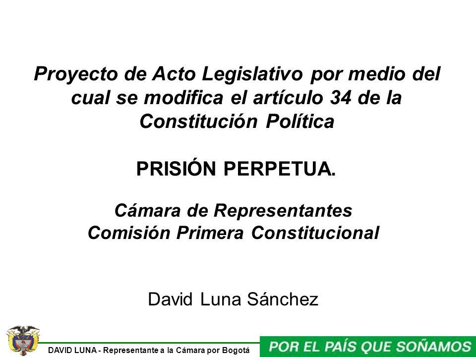 Cámara de Representantes Comisión Primera Constitucional