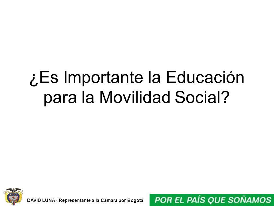 ¿Es Importante la Educación para la Movilidad Social