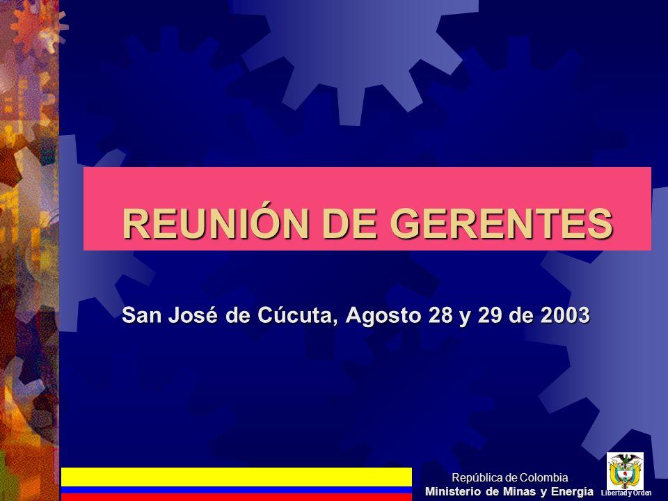 San José de Cúcuta, Agosto 28 y 29 de 2003