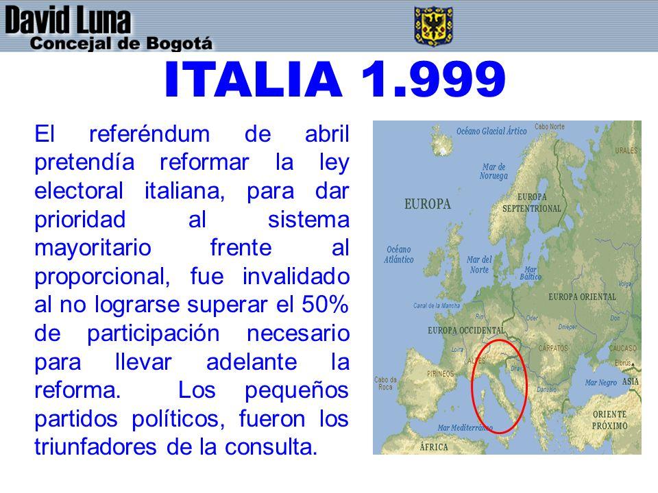 ITALIA 1.999