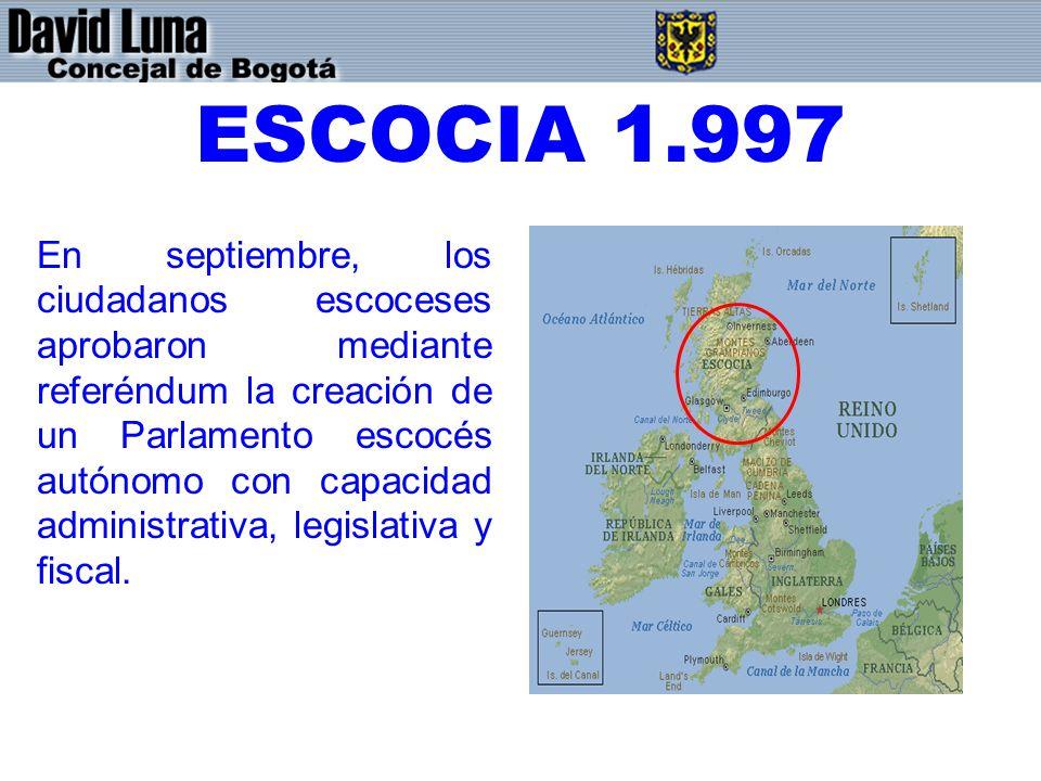 ESCOCIA 1.997