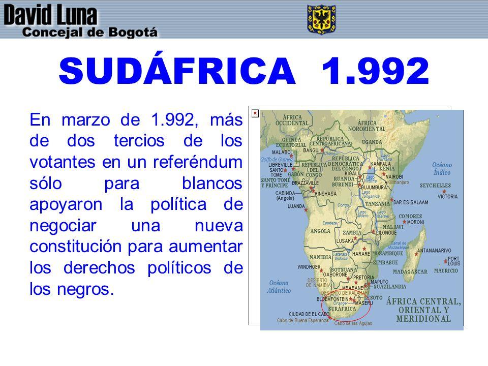 SUDÁFRICA 1.992