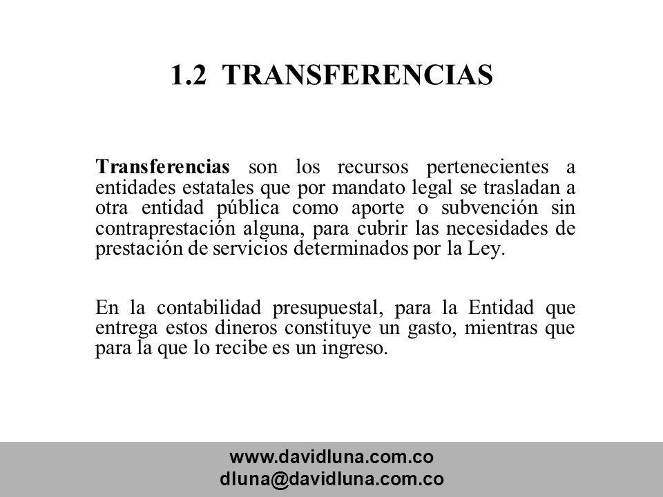 1.2 TRANSFERENCIAS