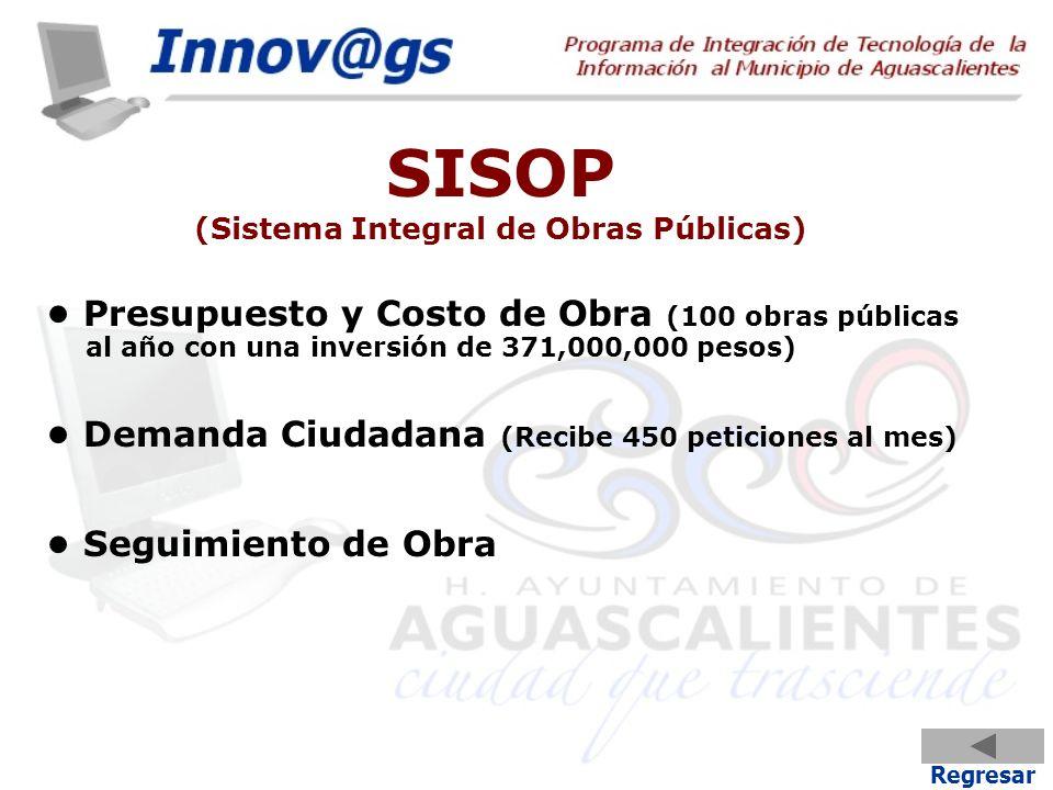 SISOP (Sistema Integral de Obras Públicas)