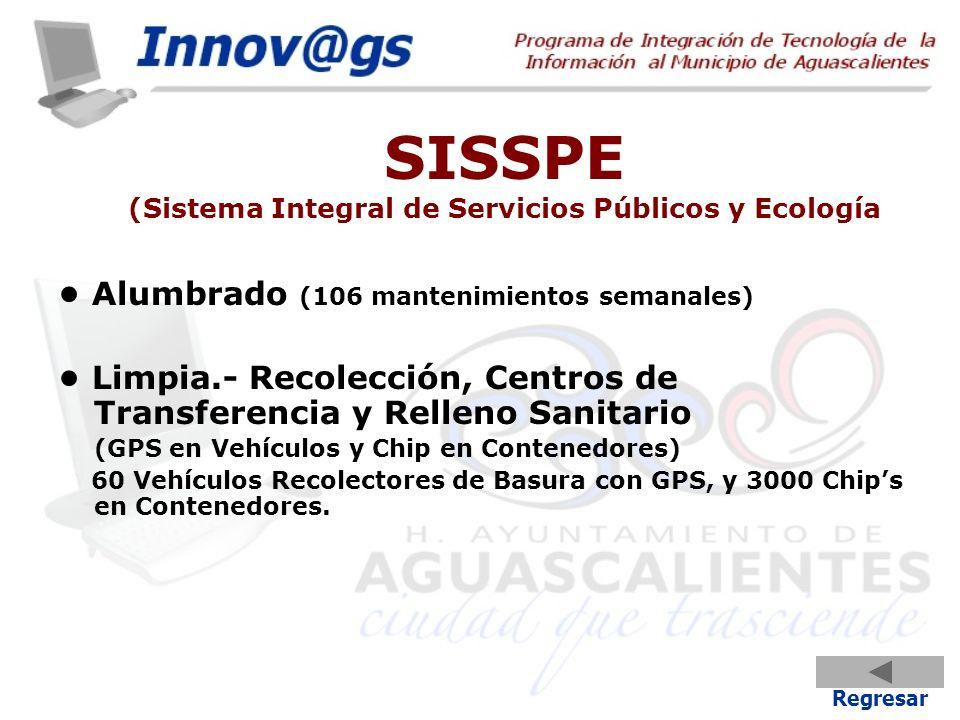 SISSPE (Sistema Integral de Servicios Públicos y Ecología