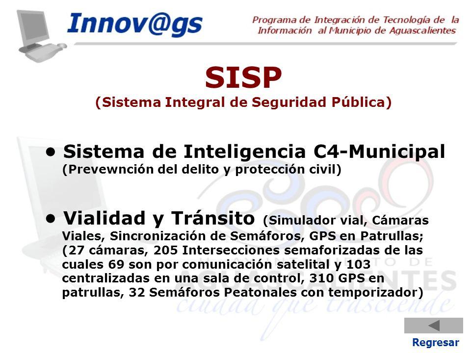 SISP (Sistema Integral de Seguridad Pública)