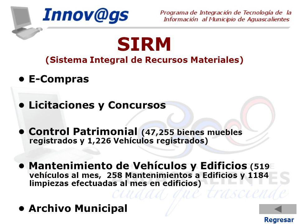 SIRM (Sistema Integral de Recursos Materiales)