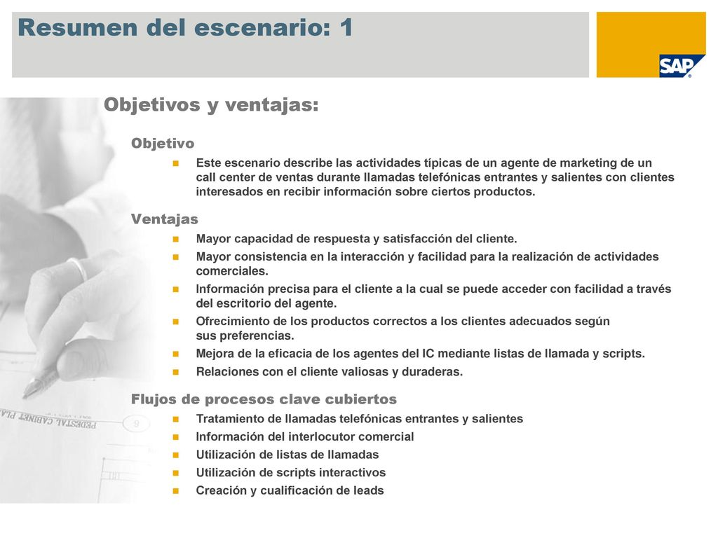Marketing de Interaction Center SAP Best Practices for CRM - ppt ...