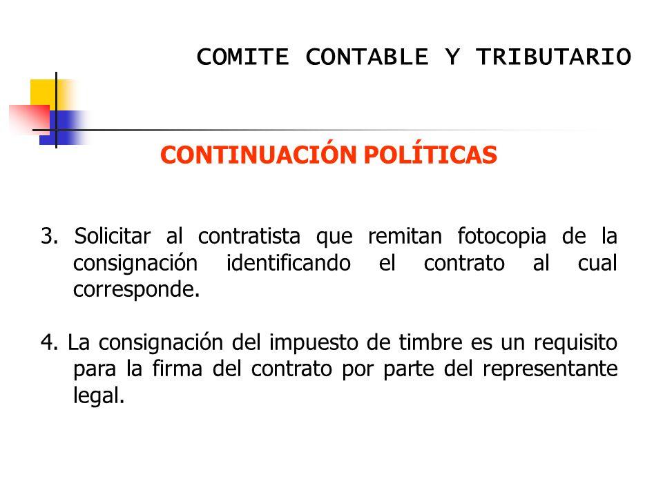 CONTINUACIÓN POLÍTICAS