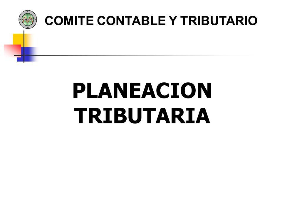 PLANEACION TRIBUTARIA