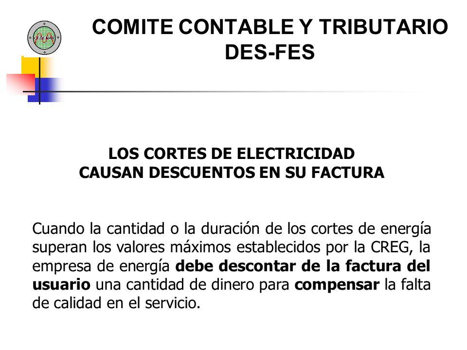 COMITE CONTABLE Y TRIBUTARIO DES-FES