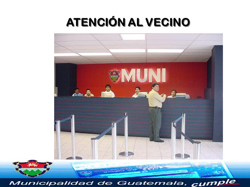 ATENCIÓN AL VECINO