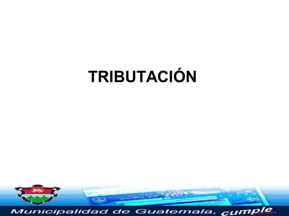 TRIBUTACIÓN