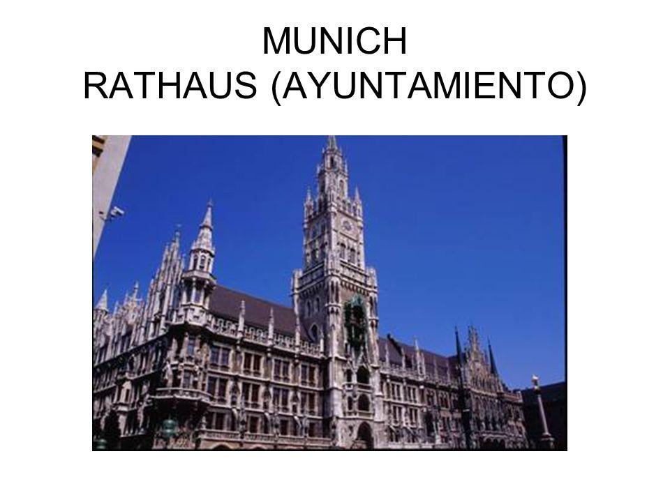 MUNICH RATHAUS (AYUNTAMIENTO)