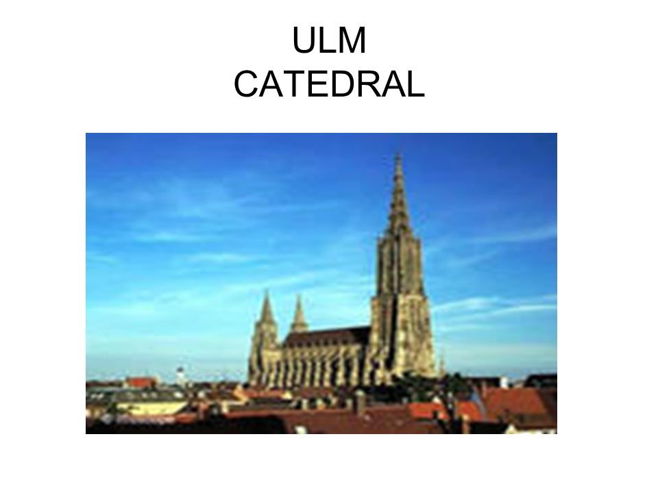 ULM CATEDRAL