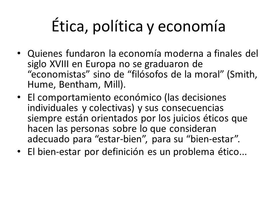 Ética, política y economía