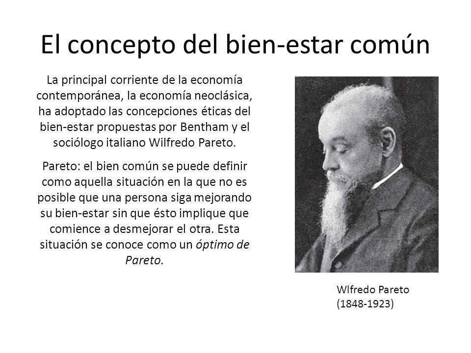 El concepto del bien-estar común