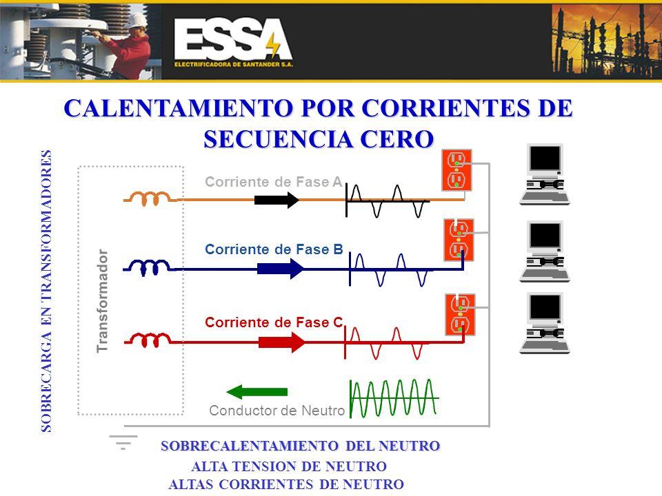 CALENTAMIENTO POR CORRIENTES DE SECUENCIA CERO