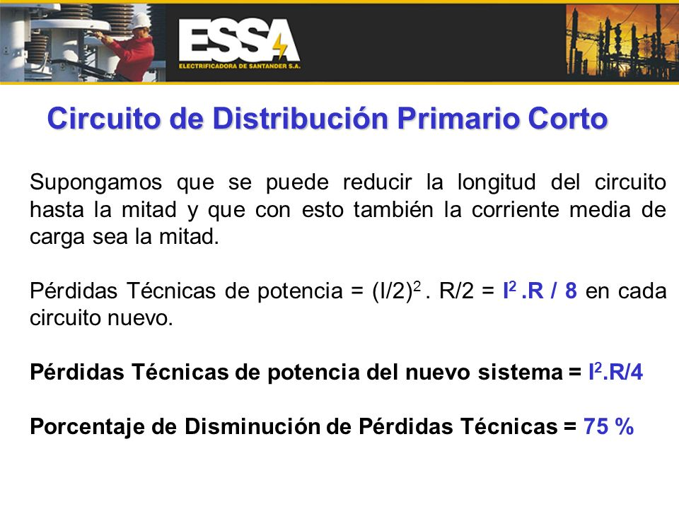 Circuito de Distribución Primario Corto