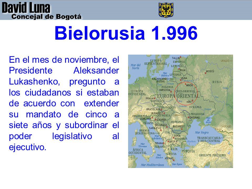 Bielorusia 1.996