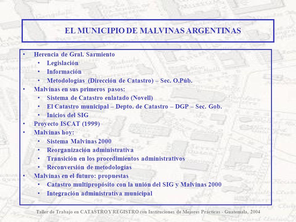 EL MUNICIPIO DE MALVINAS ARGENTINAS