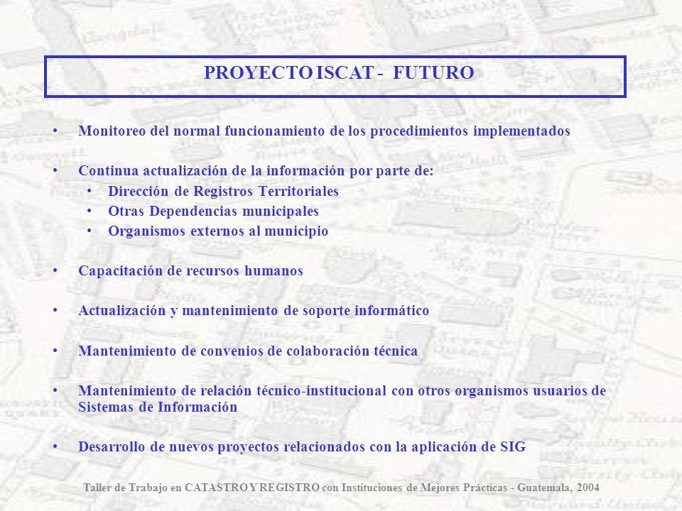 PROYECTO ISCAT - FUTURO