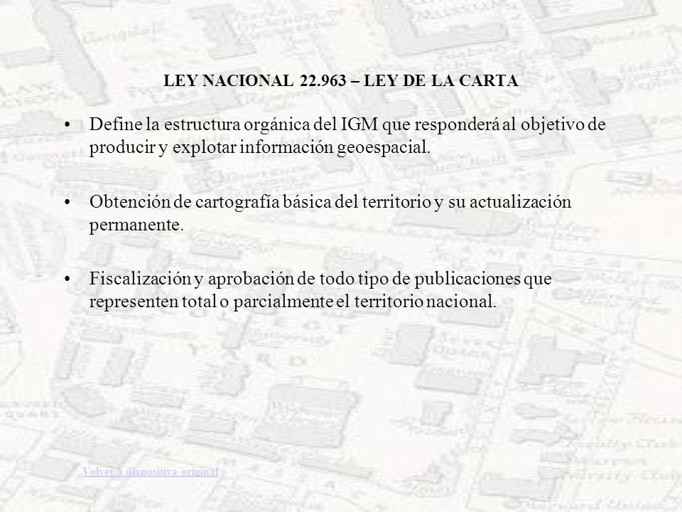 LEY NACIONAL 22.963 – LEY DE LA CARTA