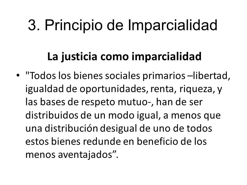 La justicia como imparcialidad