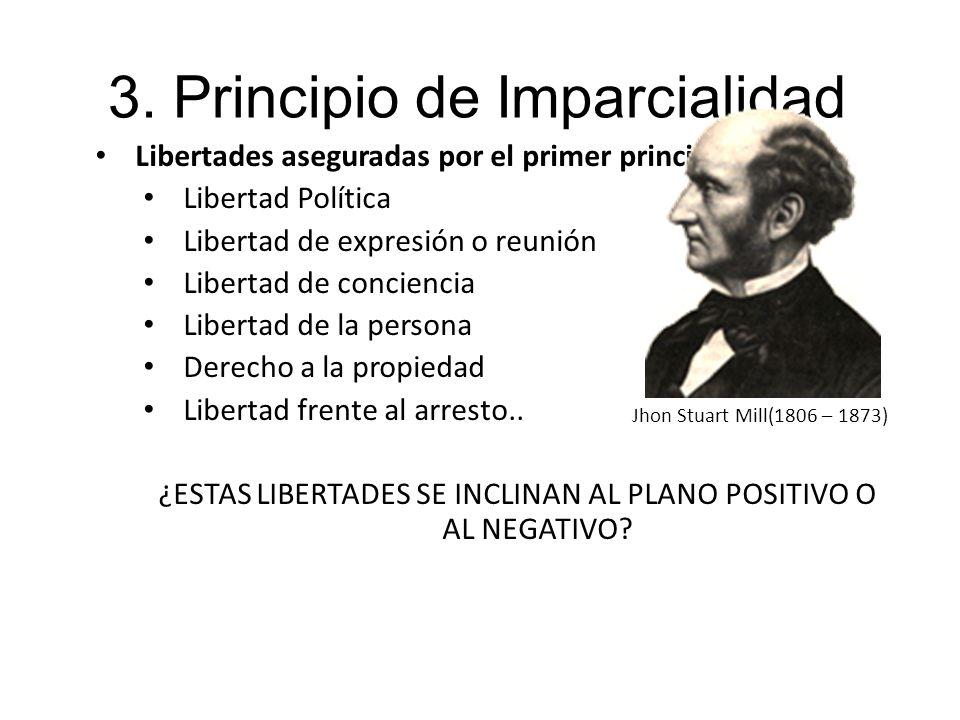 3. Principio de Imparcialidad