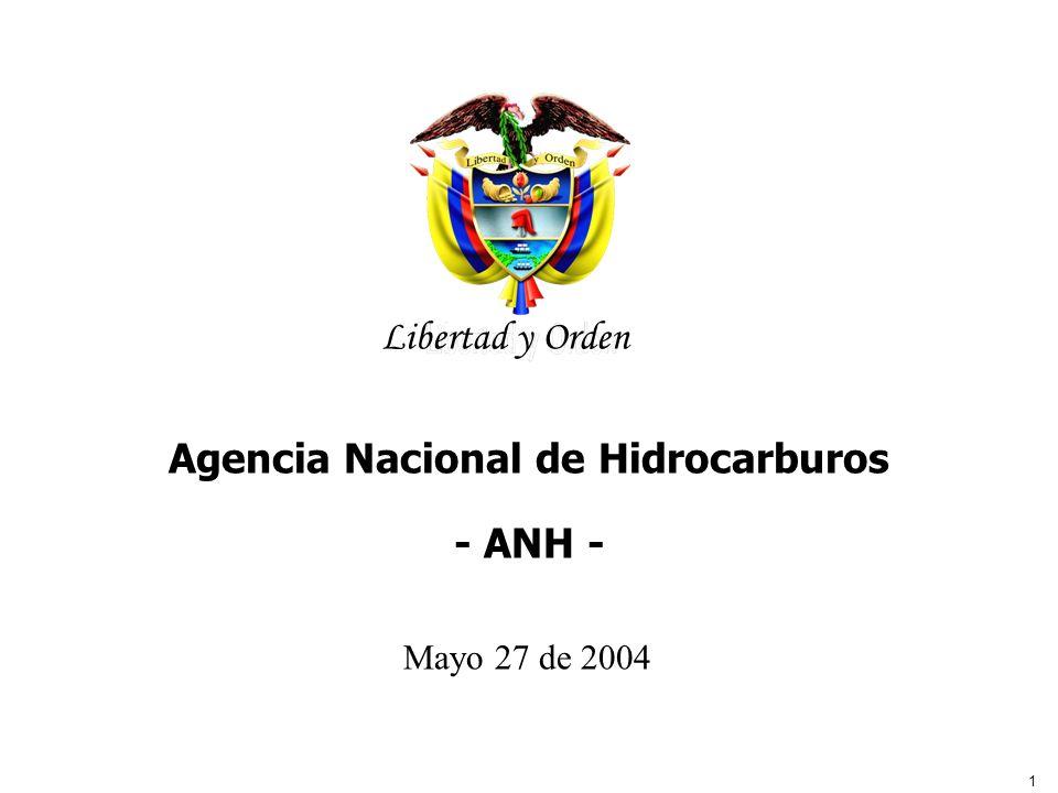 Agencia Nacional de Hidrocarburos - ANH -