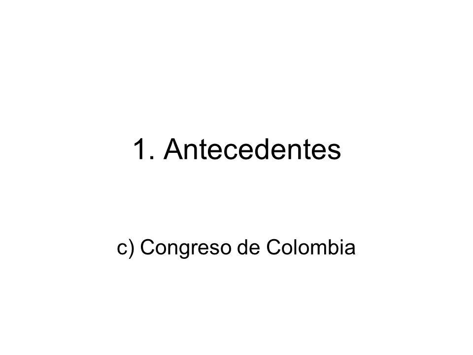 c) Congreso de Colombia