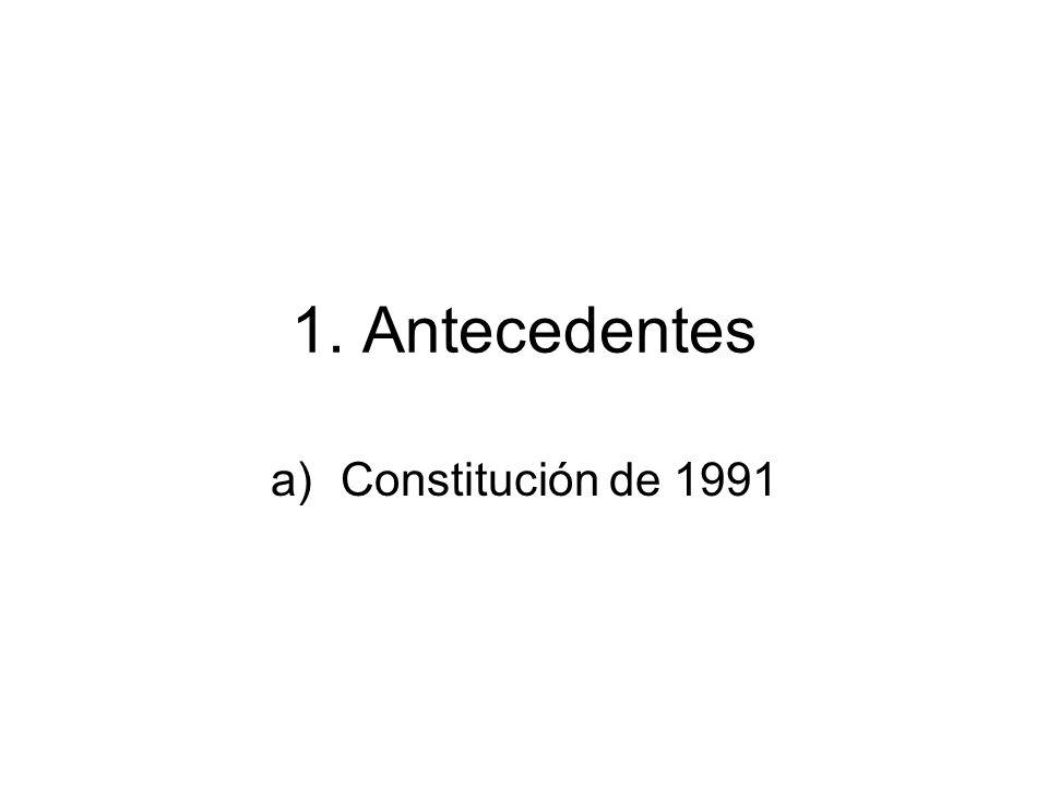 1. Antecedentes Constitución de 1991
