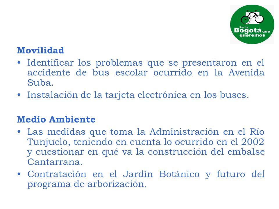 MovilidadIdentificar los problemas que se presentaron en el accidente de bus escolar ocurrido en la Avenida Suba.