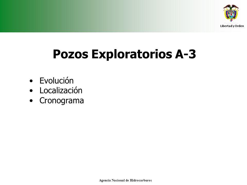 Pozos Exploratorios A-3 Agencia Nacional de Hidrocarburos