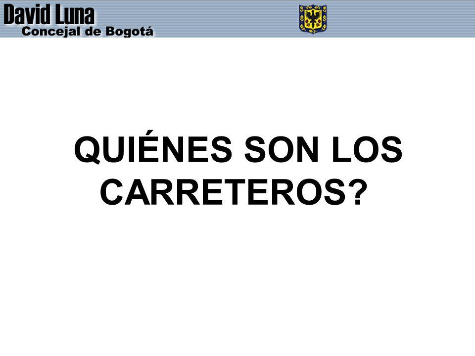 QUIÉNES SON LOS CARRETEROS