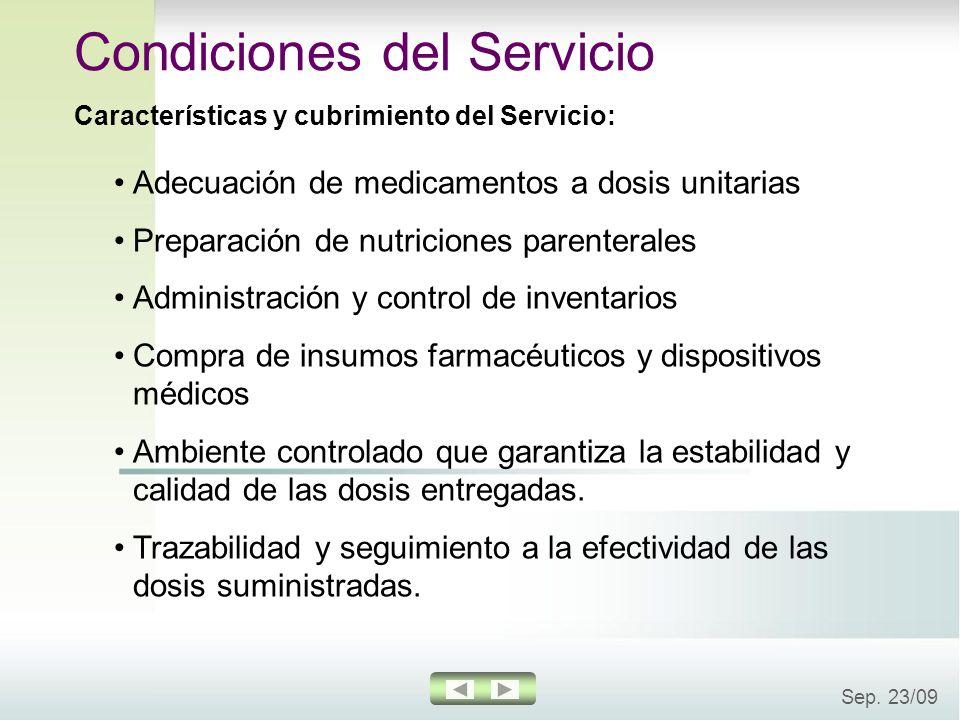 Condiciones del Servicio