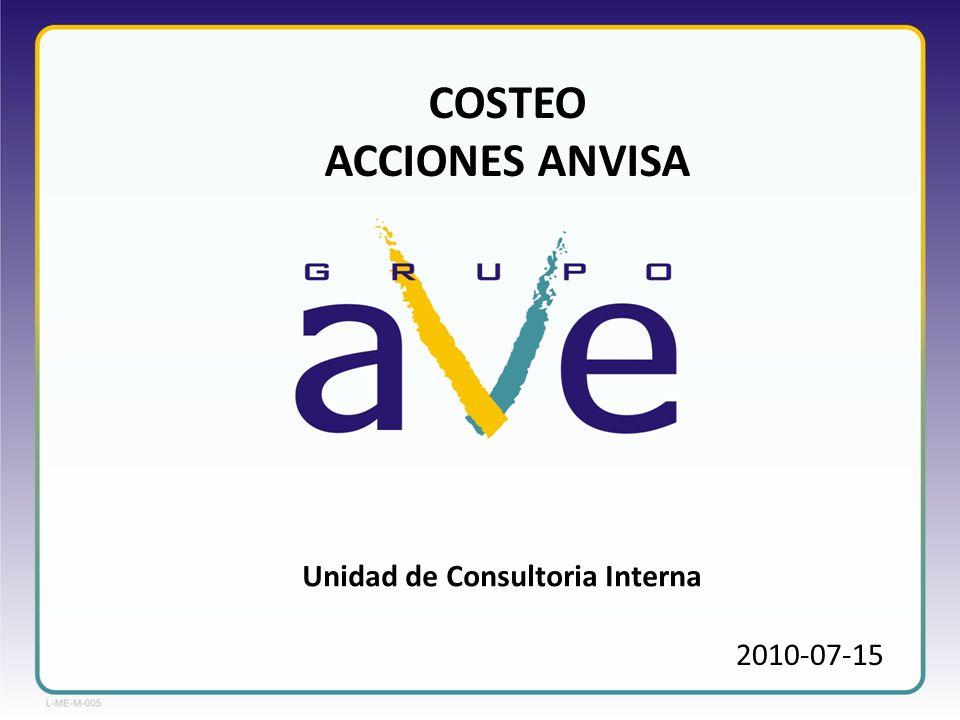 Unidad de Consultoria Interna