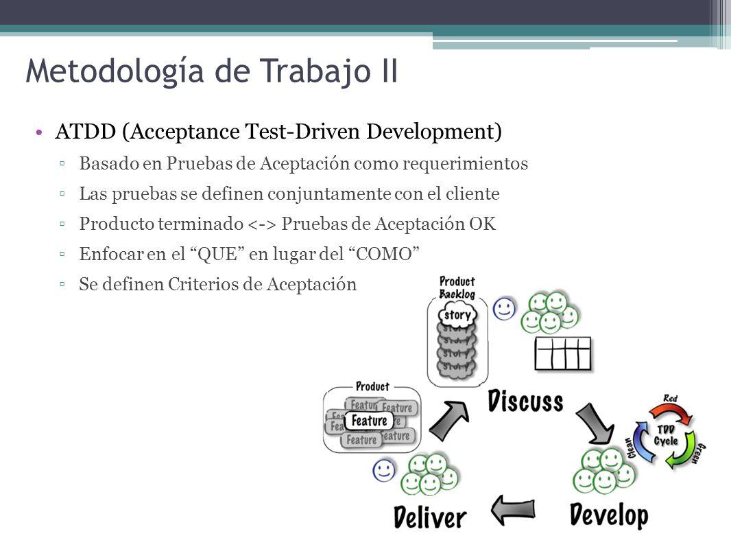 Metodología de Trabajo II