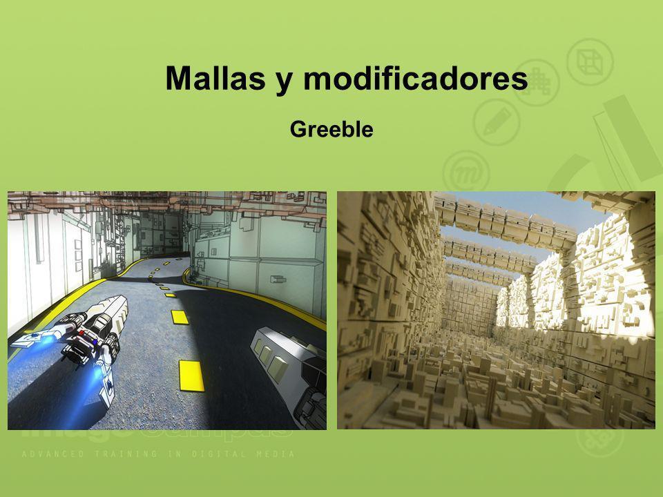 Mallas y modificadores